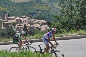 Tuscany Umbria road cycling tour