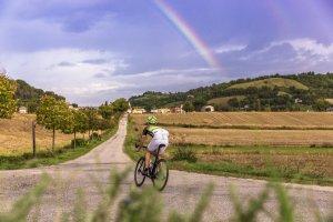 Bike hotel Ca Virginia Le Marche