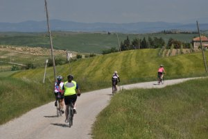 Self guided cycling Trip Tuscany Siena to Sansepolcro