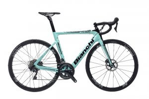 E Road bike Bianchi Aria