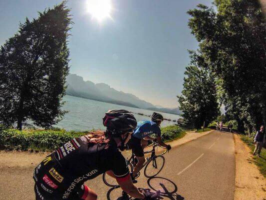 Fahrradverleih See von Annecy