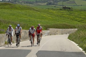 South East Sicily to Mount Etna on road bike