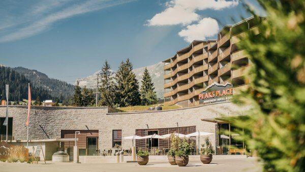 Bike hotel Peaks Place