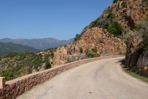 South Corsica road bike Trip