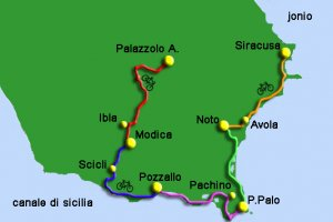 Cycling tour Sicily