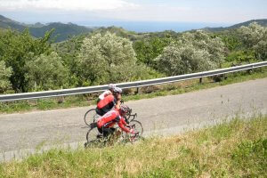 Road Cycling tour Sicily