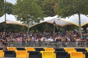Tour de France VIP Elysée grandstand