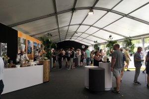 Tour de France VIP Triomphe tent