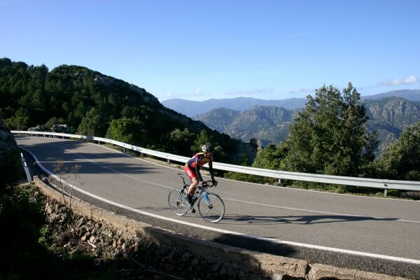 sardinia on road bike