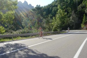 Barcelona to Girona on road bike