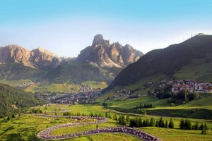 Cycling The Dolomites