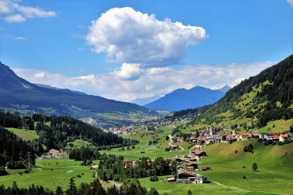 Cycling the Swiss Alps