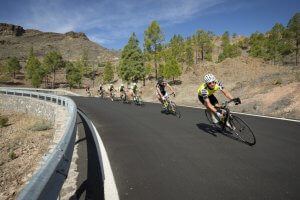 Guided road cycling Tour Gran Canaria