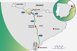 Pyrenees to Barcelona Cycling Tour
