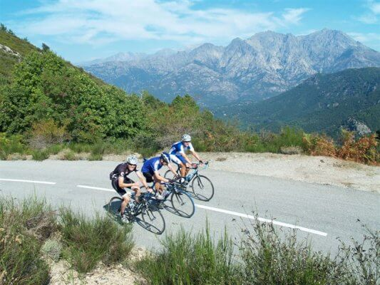 Guided Corsica island  Trip on road bike