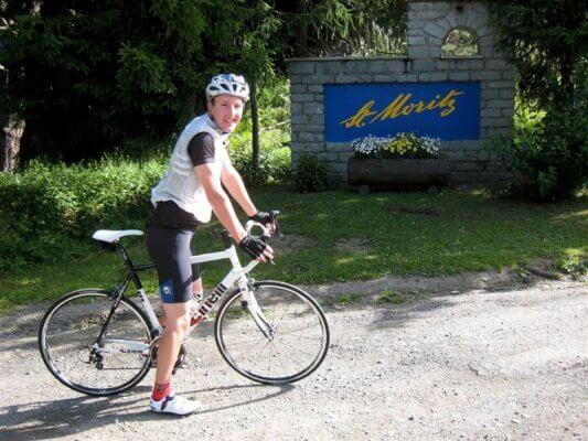 Fahrradverleih Sankt Moritz
