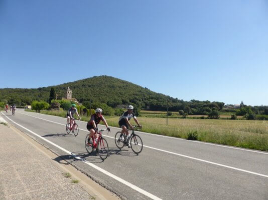 Road cycling holiday Girona