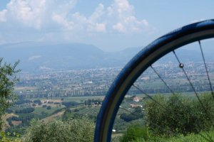 Cycling tour Umbria